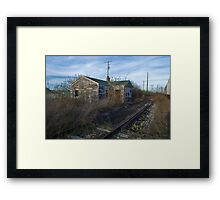 The Weigh Station Framed Print