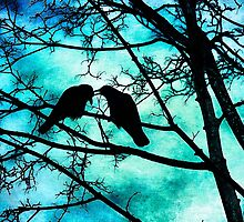 The Courtship of Crows by Tammy Wetzel