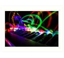 The Colour of Music Art Print
