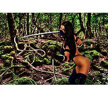 Girl Warrior Fine Art Print Photographic Print