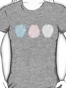 Brainy Pastel Pattern T-Shirt