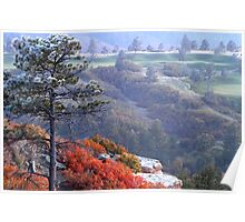 Daniels Park   Sanctuary Golf Course  Colorado Poster