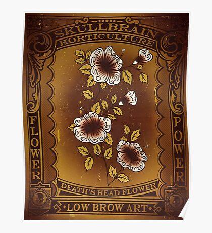 SkullBrain Horticulture Poster