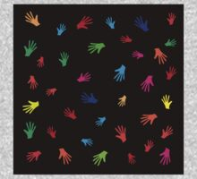 Colorful Hands, abstract Kids Clothes