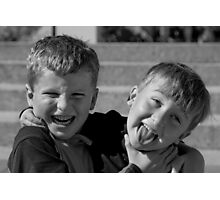 Ahhhhhhhhhh.....Brotherly Love................ Photographic Print