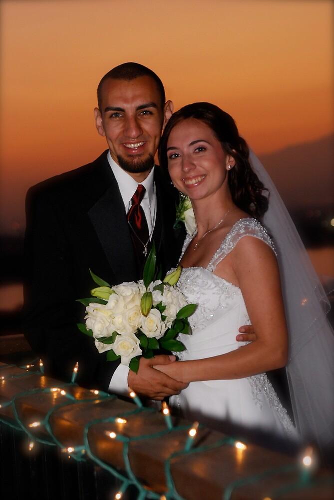 Wedding Sunset by Maria Kumlander