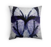 The butterfly Fx Throw Pillow