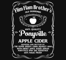 Flim Flam Brother's Old Fashioned Ponyville Apple Cider by Dennis Daniel