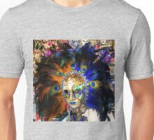 Venetian Carnival Mask Unisex T-Shirt