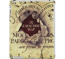 Marauders Map iPad Case/Skin