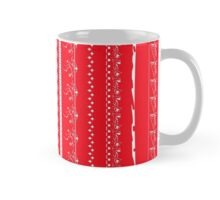 Crazy lace on red Mug