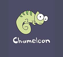 C for Chameleon by Gillian J.