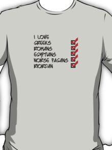 I <3 Riordan T-Shirt