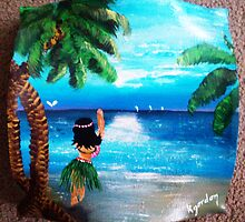 SWEET WAHINI ..........ISLAND GURL  by WhiteDove Studio kj gordon