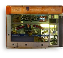 Fish and Chips Shop Canvas Print