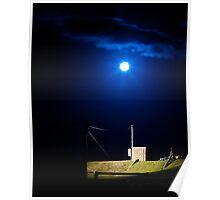 Nightly Lit Brick Box Poster