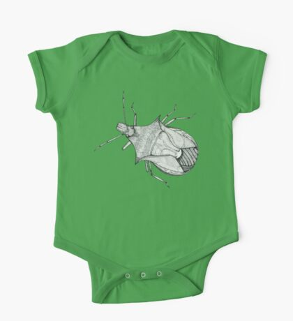 Stink Bug Pen and Ink One Piece - Short Sleeve