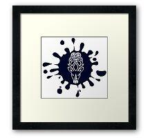 Skyrim Falkreath Splat Logo Framed Print