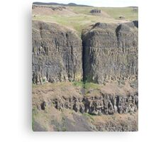 Palouse Falls Series - Crack in the earth! Canvas Print