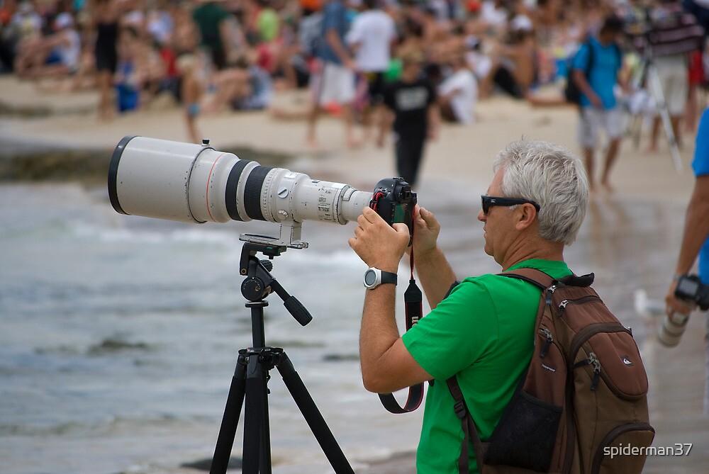Photographer - Quicksilver Pro - Snapper Rocks - Australia by Anthony Wilson