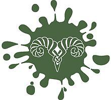 Skyrim Markarth Splat Logo by sansasnark