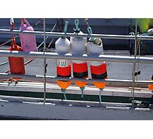 Hangin' out with the buoys Photographic Print