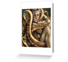 the tentacles of agony Greeting Card