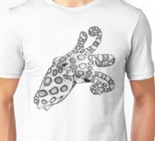 Blue-Ringed Octopus Pen and Ink Unisex T-Shirt