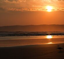 Sunset at Waratah Bay by Will Hore-Lacy