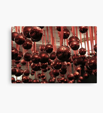 Red Ball 2 Canvas Print