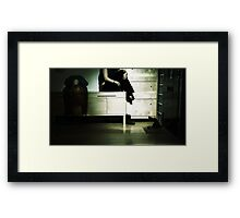 Losing Touch Framed Print