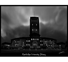 Cambridge University Library Photographic Print