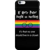 Harry PRIDE Potter  iPhone Case/Skin