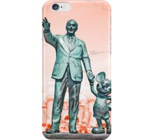 Walt and Mickey iPhone Cases and Skins Red iPhone Case/Skin