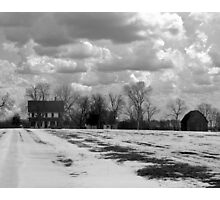 Franchiscas House ( Bridges Of Madison County) Photographic Print