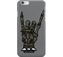 HEAVY METAL HAND SIGN - the storm iPhone Case/Skin
