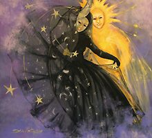 "Magic dance -  from  ""Impossible love""  series by dorina costras"