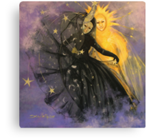 """Magic dance -  from  """"Impossible love""""  series Canvas Print"""