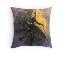 """Magic dance -  from  """"Impossible love""""  series Throw Pillow"""