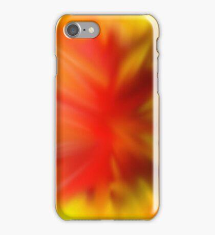 exploding meteor iPhone Case/Skin