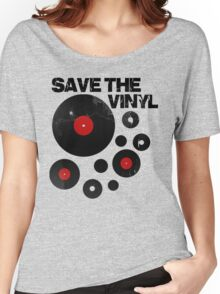 Save The Vinyl Women's Relaxed Fit T-Shirt