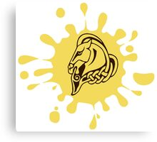 Skyrim Whiterun Splat Logo Canvas Print