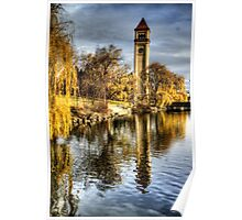 Riverside Park Clocktower Poster