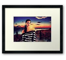 Fashion Sunset Fine Art Print Framed Print