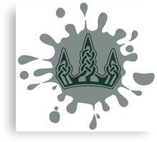 Skyrim Winterhold Splat Logo Canvas Print