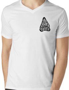 Shark Tooth Apparel Logo  Mens V-Neck T-Shirt