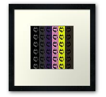 Red vs. Blue (group two) Framed Print