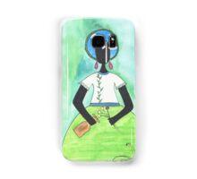 Baiana from Brazil holding a vase Samsung Galaxy Case/Skin