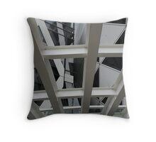 Contemporary Tokyo Building  Throw Pillow