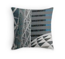 Office Buildings, Tokyo  Throw Pillow